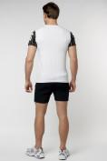 Оптом Подростковая футболка белого цвета 220016Bl в Екатеринбурге, фото 7