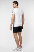 Оптом Подростковая футболка белого цвета 220035Bl в Екатеринбурге, фото 7