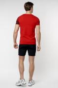 Оптом Подростковая футболка красного цвета 220036Kr в Екатеринбурге, фото 7