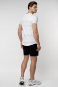 Оптом Подростковая футболка белого цвета 220072Bl в Екатеринбурге, фото 7