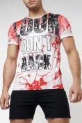 Оптом Подростковая футболка красного цвета 220077Kr в Екатеринбурге, фото 7