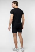 Оптом Подростковая футболка черного цвета 220088Ch в Екатеринбурге, фото 7