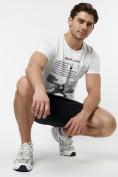 Оптом Подростковая футболка белого цвета 220088Bl в Екатеринбурге, фото 3