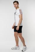 Оптом Подростковая футболка белого цвета 220090Bl в Екатеринбурге, фото 7