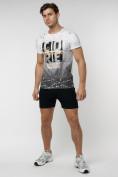 Оптом Подростковая футболка белого цвета 220145Bl в Екатеринбурге, фото 6
