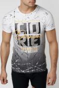 Оптом Подростковая футболка белого цвета 220145Bl в Екатеринбурге, фото 2