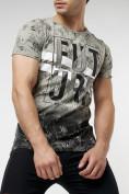 Оптом Подростковая футболка бежевого цвета 220147B в Екатеринбурге, фото 2