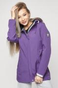 Оптом Ветровка женская MTFORCE фиолетового цвета 20371F в Екатеринбурге, фото 10