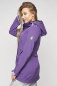 Оптом Ветровка женская MTFORCE фиолетового цвета 20371F в Екатеринбурге, фото 13