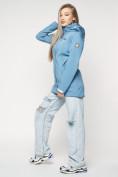 Оптом Ветровка женская MTFORCE синего цвета 20371S в Екатеринбурге, фото 8