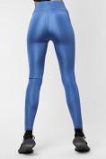 Оптом Леггинсы женские синего цвета 22092S в Екатеринбурге, фото 3