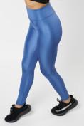 Оптом Леггинсы женские синего цвета 22092S в Екатеринбурге, фото 4