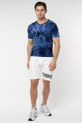 Оптом Мужская футболка варенка темно-синего цвета 221004TS в Екатеринбурге, фото 5