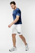 Оптом Мужская футболка варенка темно-синего цвета 221004TS в Екатеринбурге, фото 6