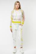 Оптом Спортивный костюм белого цвета 22103Bl в Казани