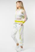 Оптом Спортивный костюм белого цвета 22103Bl в Казани, фото 4