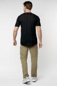 Оптом Однотонная футболка черного цвета 221411Ch в Екатеринбурге, фото 7
