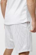 Оптом Костюм шорты и майка белого цвета 225309Bl, фото 13