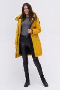 Оптом Куртка удлиненная  TRENDS SPORT горчичного цвета 22297G, фото 2