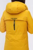 Оптом Куртка удлиненная  TRENDS SPORT горчичного цвета 22297G, фото 12
