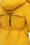 Оптом Куртка удлиненная  TRENDS SPORT горчичного цвета 22297G, фото 4