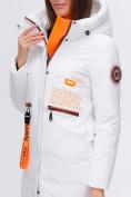 Оптом Куртка удлиненная TRENDS SPORT белого цвета 22297Bl, фото 11