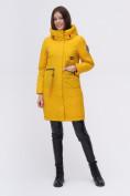Оптом Куртка удлиненная  TRENDS SPORT горчичного цвета 22297G, фото 5