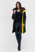 Оптом Куртка удлиненная TRENDS SPORT болотного цвета 22297Bt, фото 3