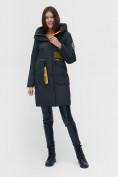 Оптом Куртка удлиненная TRENDS SPORT болотного цвета 22297Bt