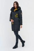 Оптом Куртка удлиненная TRENDS SPORT болотного цвета 22297Bt, фото 4