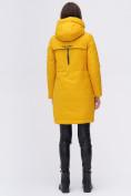 Оптом Куртка удлиненная  TRENDS SPORT горчичного цвета 22297G, фото 6