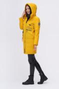 Оптом Куртка удлиненная  TRENDS SPORT горчичного цвета 22297G, фото 8