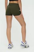 Оптом Спортивные шорты женские хаки цвета 3005Kh, фото 12