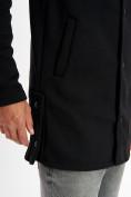 Оптом Толстовка классическая черного цвета 3007Ch в Екатеринбурге, фото 6