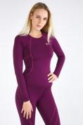 Оптом Термобелье женское фиолетового цвета 3114F, фото 7