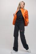 Оптом Пуховик еврозима Valianly оранжевого цвета 32121O в Екатеринбурге, фото 9