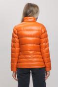 Оптом Пуховик еврозима Valianly оранжевого цвета 32121O в Екатеринбурге, фото 5