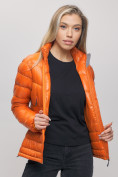 Оптом Пуховик еврозима Valianly оранжевого цвета 32121O в Екатеринбурге, фото 8