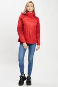 Оптом Куртка демисезонная 3 в 1 красного цвета 33213Kr в Екатеринбурге, фото 11