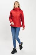 Оптом Куртка демисезонная 3 в 1 красного цвета 33213Kr в Екатеринбурге, фото 12