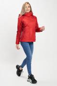 Оптом Куртка демисезонная 3 в 1 красного цвета 33213Kr в Екатеринбурге, фото 13