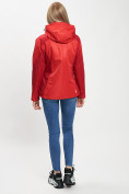 Оптом Куртка демисезонная 3 в 1 красного цвета 33213Kr в Екатеринбурге, фото 14
