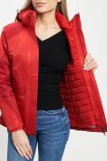 Оптом Куртка демисезонная 3 в 1 красного цвета 33213Kr в Екатеринбурге, фото 2