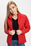 Оптом Куртка демисезонная 3 в 1 красного цвета 33213Kr в Екатеринбурге, фото 4