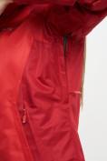 Оптом Куртка демисезонная 3 в 1 красного цвета 33213Kr в Екатеринбурге, фото 6