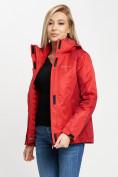 Оптом Куртка демисезонная 3 в 1 красного цвета 33213Kr в Екатеринбурге, фото 8