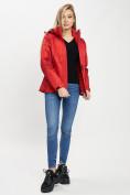 Оптом Куртка демисезонная 3 в 1 красного цвета 33213Kr в Екатеринбурге, фото 10