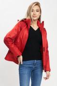 Оптом Куртка демисезонная 3 в 1 красного цвета 33213Kr в Екатеринбурге, фото 9