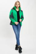 Оптом Куртка демисезонная 3 в 1 серого цвета 33213Sr в Екатеринбурге, фото 6