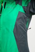 Оптом Куртка демисезонная 3 в 1 серого цвета 33213Sr в Екатеринбурге, фото 13